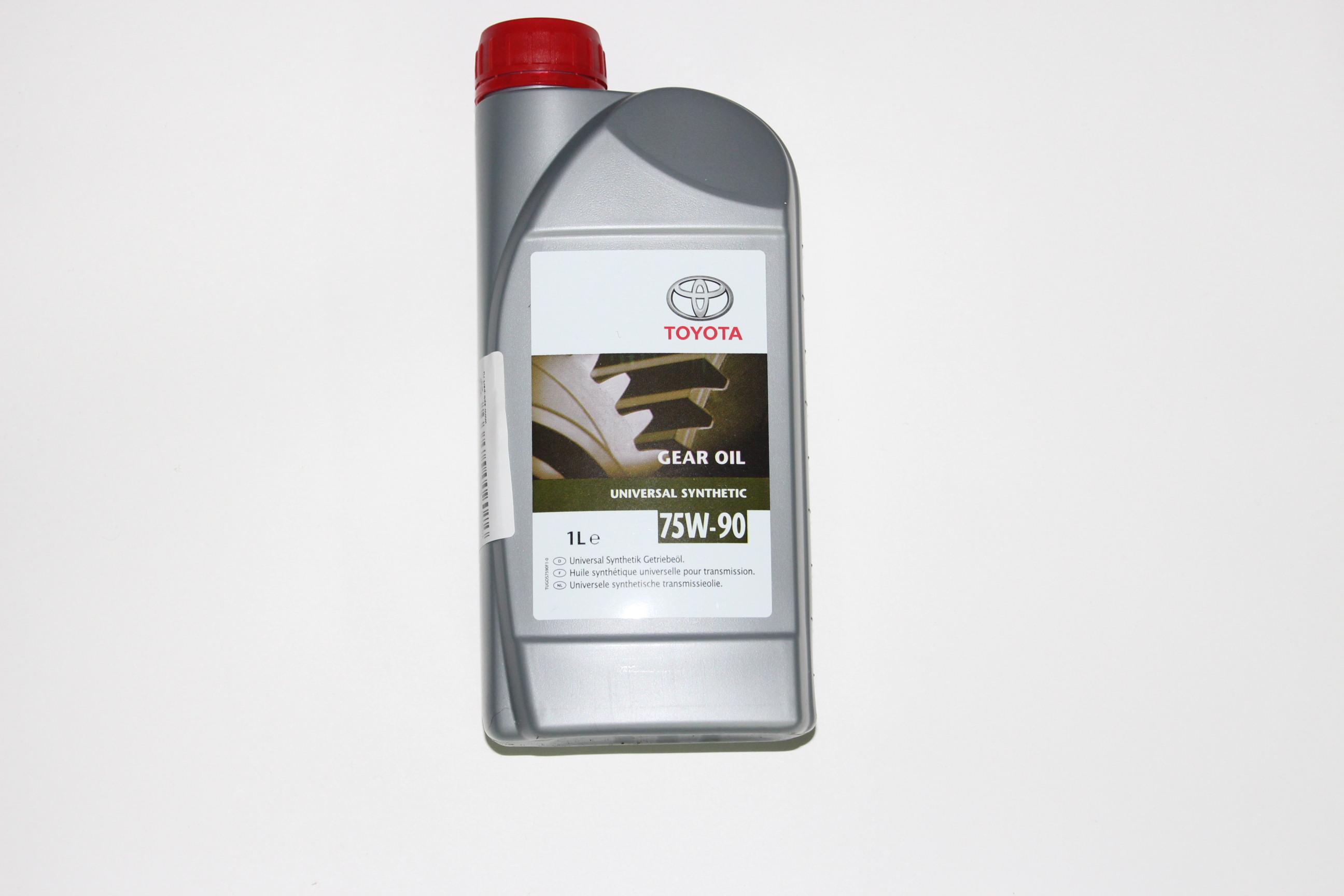 какое масло в мкпп Toyota Аурис